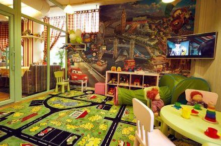 В каких заведениях города Винница есть детские комнаты?