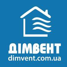 Логотип Домвент, системы вентиляции и кондиционирования г. Хмельницкий