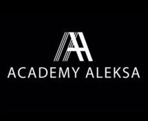 Логотип Aleksa Academy, академія перукарського мистецтва м. Хмельницький