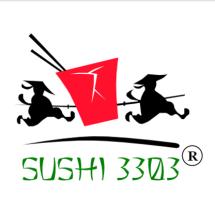 Логотип Суші 3303, доставка суші м. Хмельницький