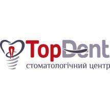 Логотип Top Dent, стоматологія м. Вінниця