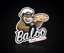 Логотип Baloo, доставка піци та суші м. Хмельницький