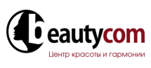 Логотип Beautycom, центр красоты и здоровья г. Винница