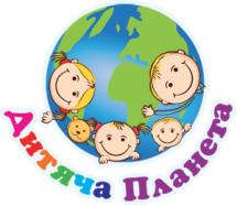 Логотип Дитяча планета, парк святкування м. Вінниця