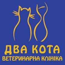 Логотип Два кота м. Вінниця