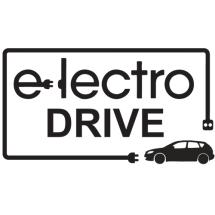 Логотип ЭлектроДрайв, салон электромобилей г. Винница