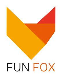 Логотип FunFox, розважальний центр м. Вінниця