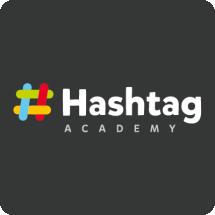 Логотип Hashtag, комп'ютерна академія м. Хмельницький