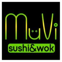 Логотип Muvi, суші бар м. Вінниця