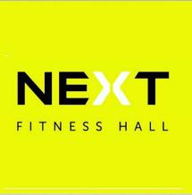 Логотип Next Fitness Hall, спортивний центр м. Вінниця