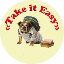 Логотип Школа иностраных языков TAKE IT EASY г. Винница
