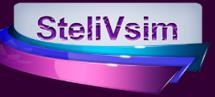 Логотип SteliVsim, натяжні стелі м. Вінниця