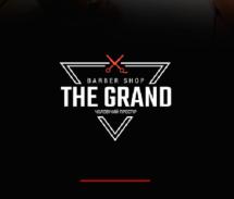 Логотип The Grand Barbershop, чоловіча перукарня м. Вінниця