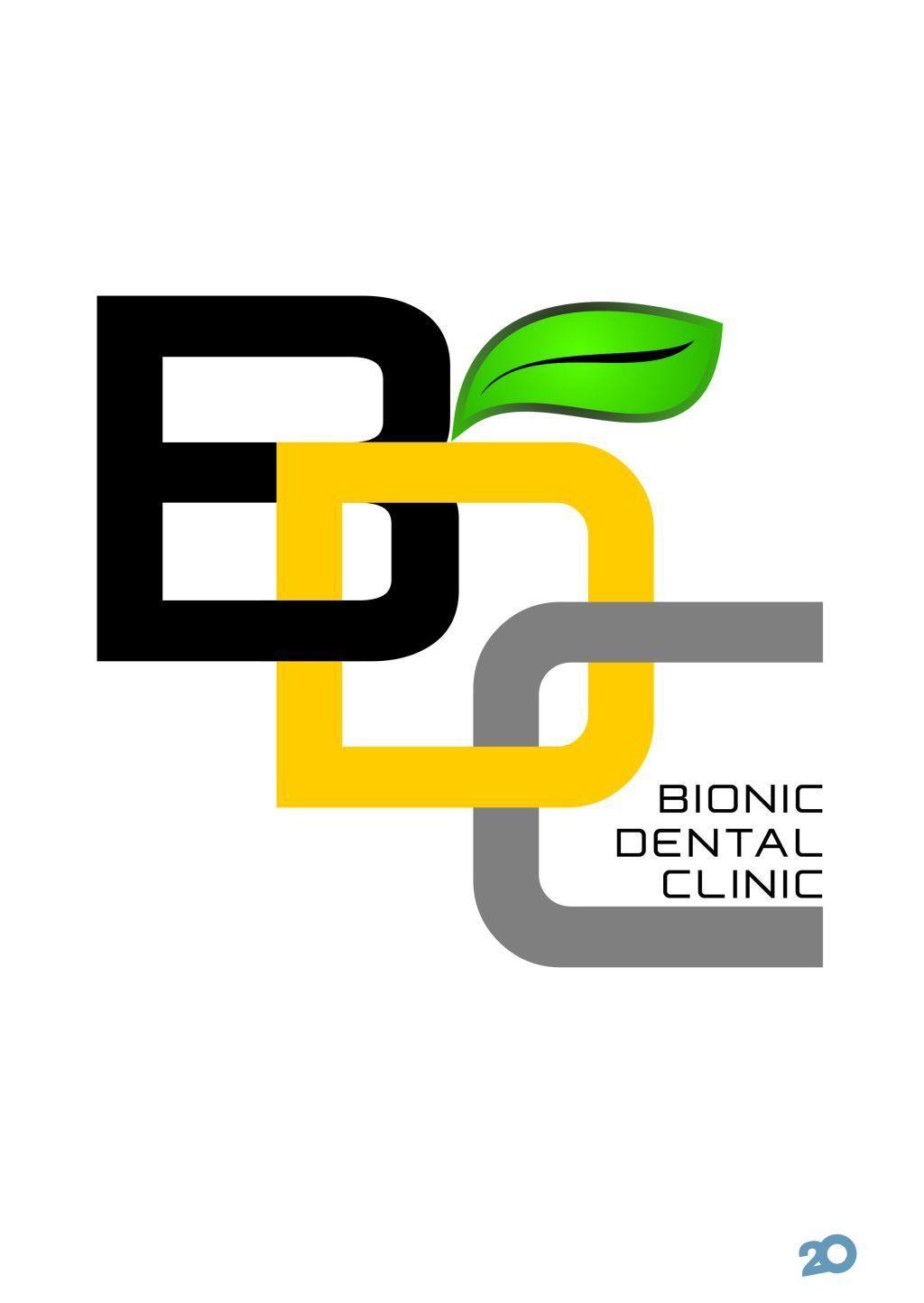 Логотип Bionic Dental Clinic біонічна стоматологія м. Рівне