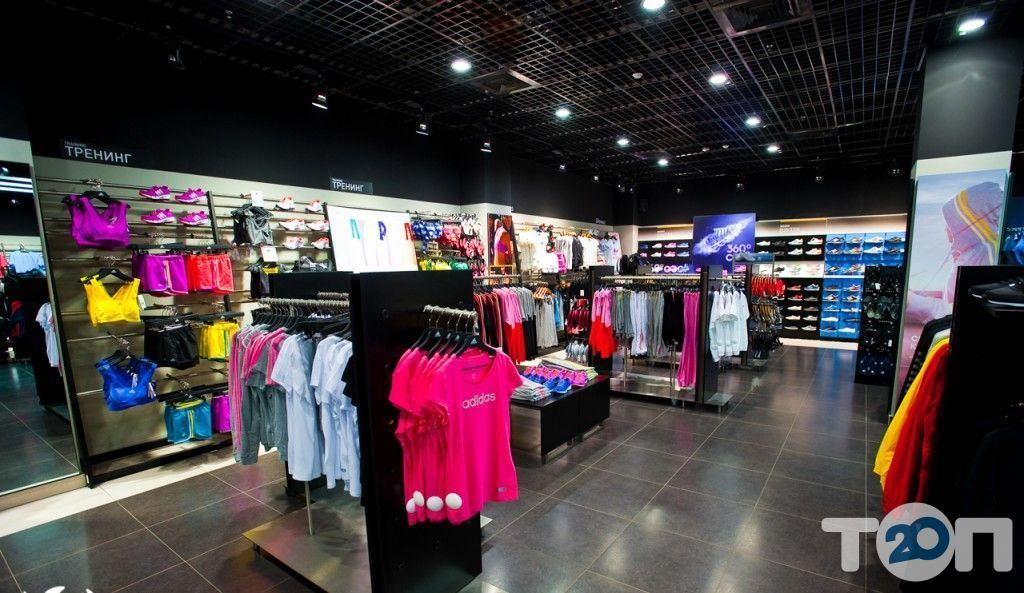 Adidas, магазин взуття - фото 1