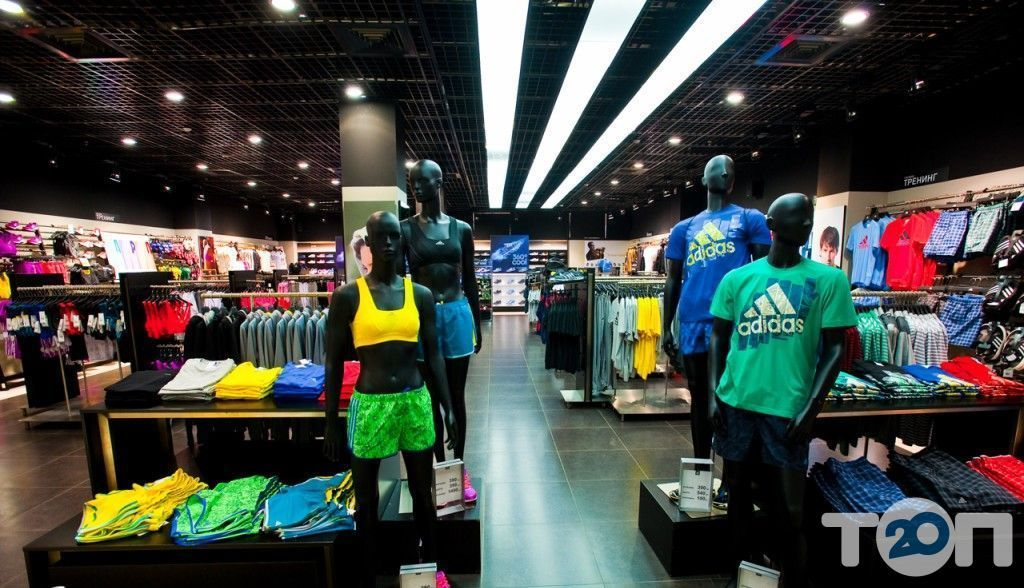 Adidas, магазин взуття - фото 2