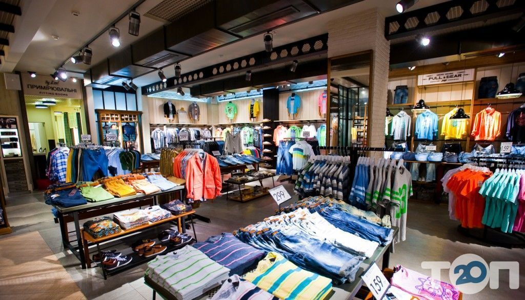 Pull&Bear, магазин одягу та взуття - фото 2