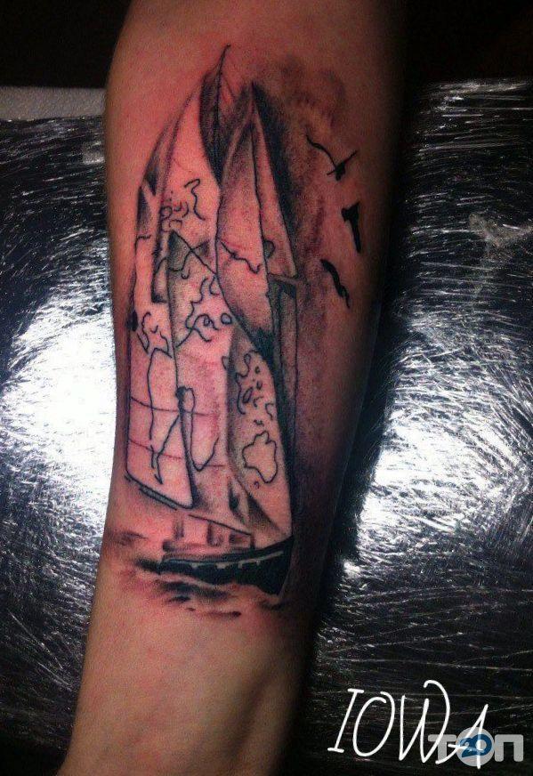 Татуювання в місті Південної річки, тату-салон - фото 1