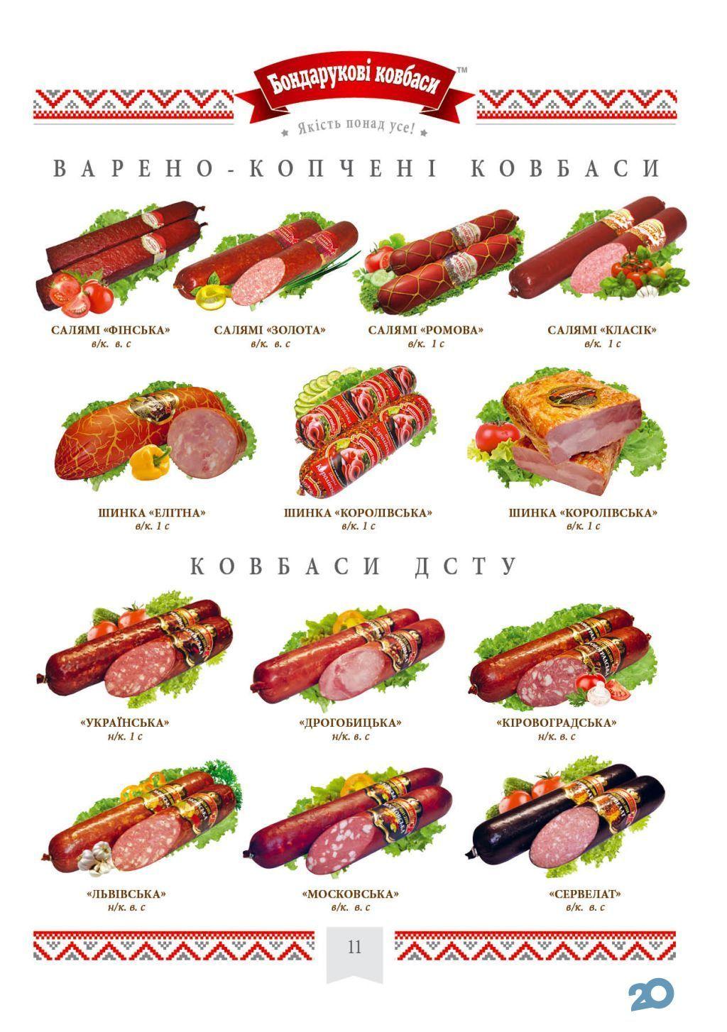 Бондарукові ковбаси, м'ясний магазин - фото 13