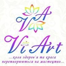 Логотип ViArt салон красоты г. Тернополь