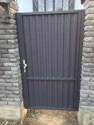 Откатные ворота & Ступени фото