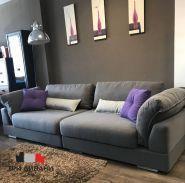 Три дивани, меблевий салон фото
