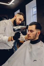 The Grand Barbershop, чоловіча перукарня фото