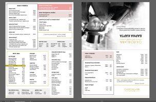 Меню Сhurchill-Inn, готель-ресторан - сторінка 1