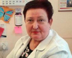 Чебан Любовь Игнатьевна, семейный врач фото