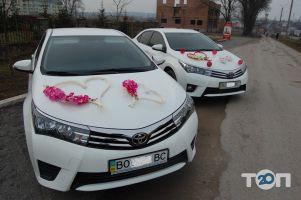 Прикраси на весільні авто - фото 1