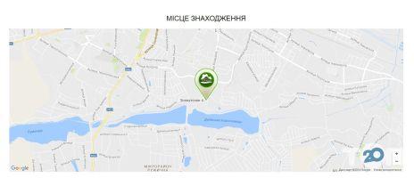 Дубовські озера - карта