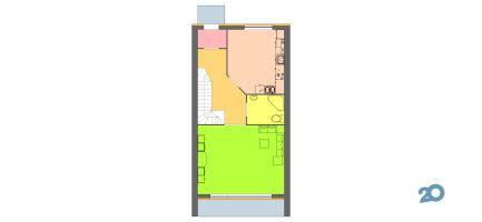 Дубовські озера, котеджне містечко - Планування Котедж 120 1,1