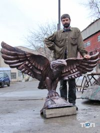 Елітна художня ковка, кована скульптура - фото 5