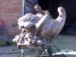 Елітна художня ковка, кована скульптура - фото 10