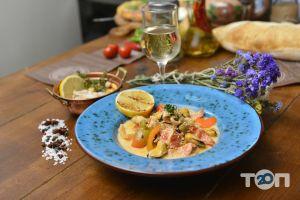 Grill's - Морепродукти у вершковому соусі