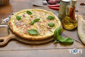 Grill's - Піца Carne зі свининою на білому соусі