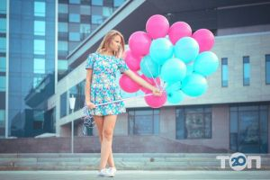 Лелик і Болик, оформлення повітряними кульками - фото 2