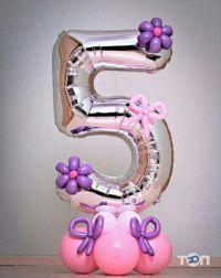Лелик і Болик, оформлення повітряними кульками - фото 1