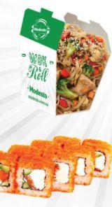 Modesto sushi wok, доставка їжі - суші, вок