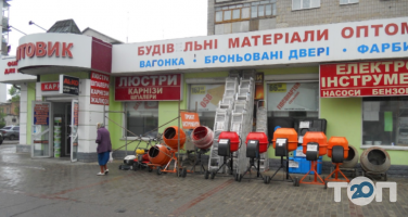 Оптовик, магазин строительных материалов фото