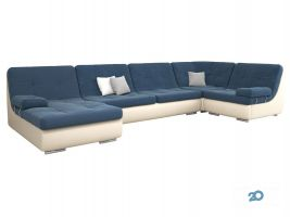 Три дивани, меблевий салон - фото 1