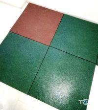 PuzzleGym, виробник гумової плитки фото