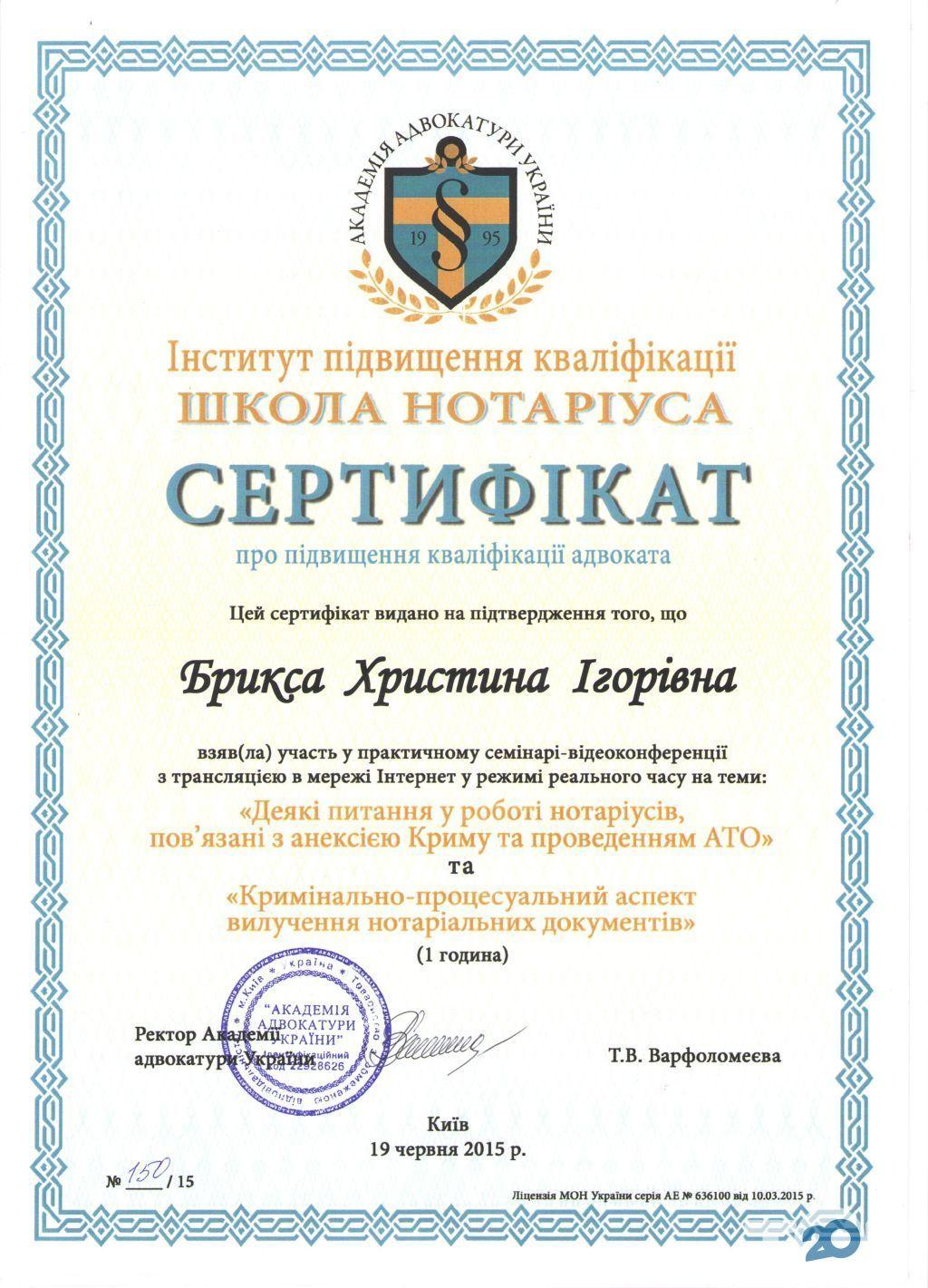 Адвокат Брикса Христина - фото 9