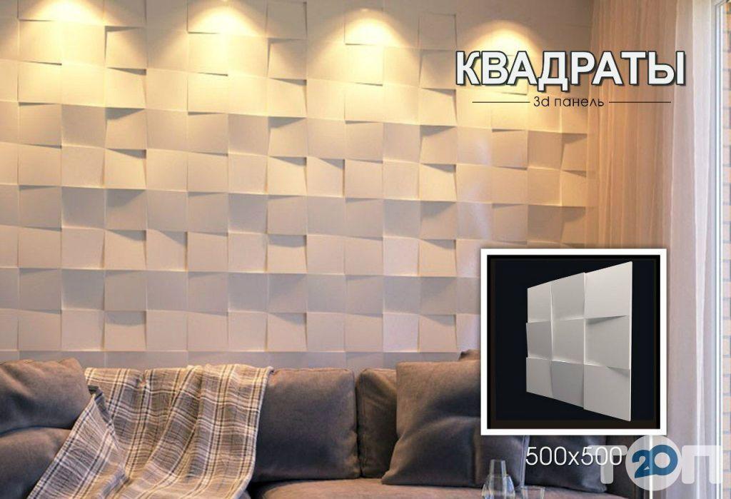 Гипсовые 3d панели New Walls - фото 3
