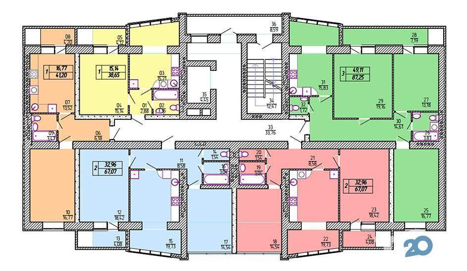 Львовский, жилой комплекс - фото 1
