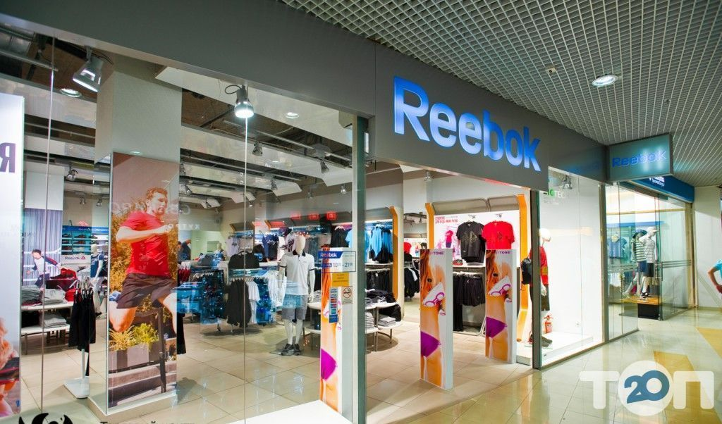 Reebok, магазин обуви - фото 2