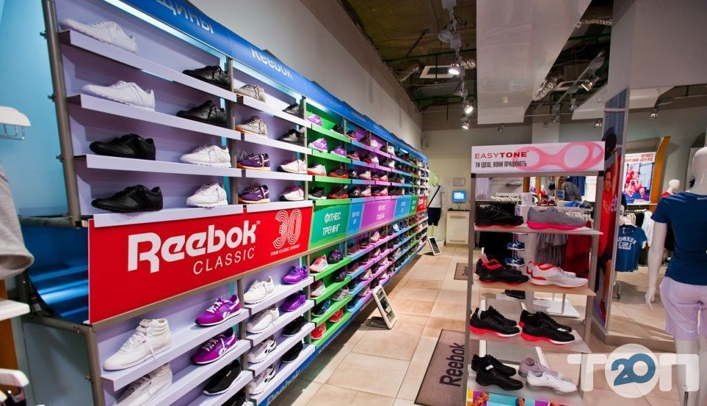 Reebok, магазин обуви - фото 4