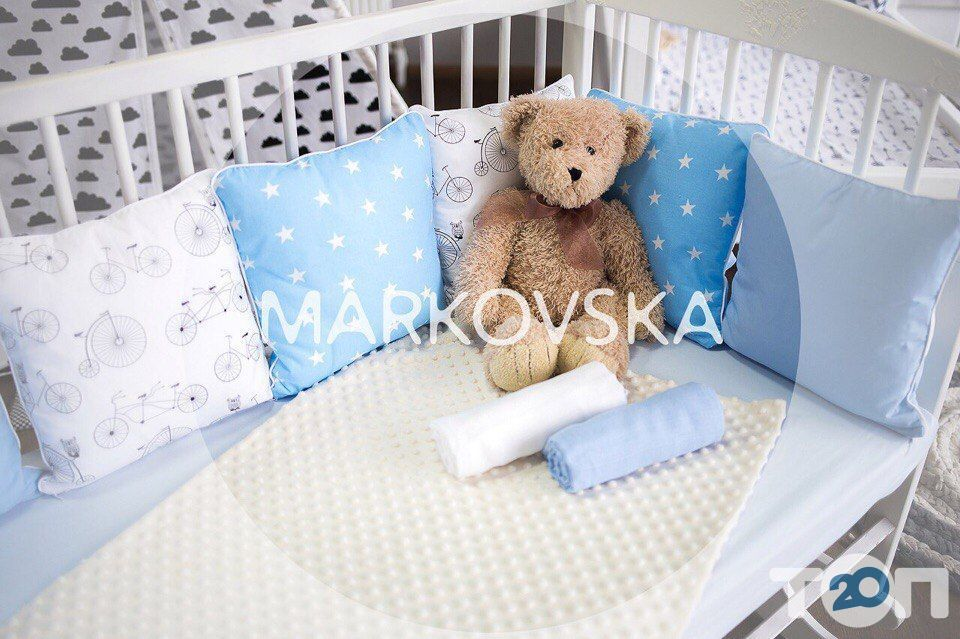 Markovska, студия детского текстиля и декора - фото 2