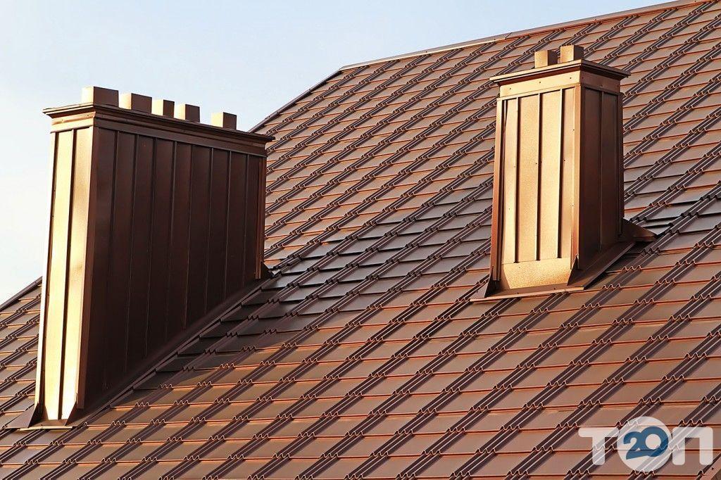 Захід-дах, кровельные материалы - фото 3