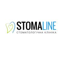 Логотип StomaLine, стоматологическая клиника г. Винница